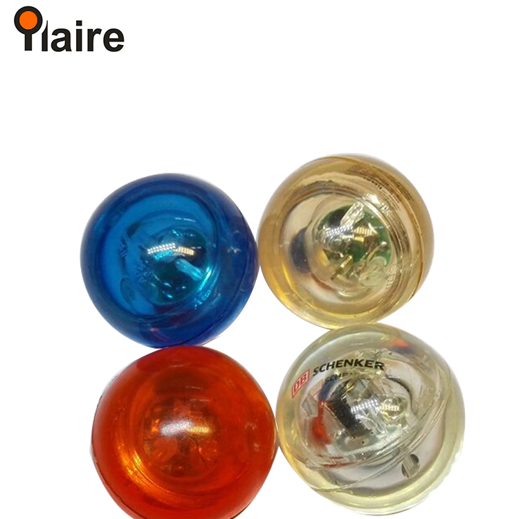flashing colorful super high transparent bouncing ball