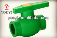 ppr pipe fitting all plastic ball valve