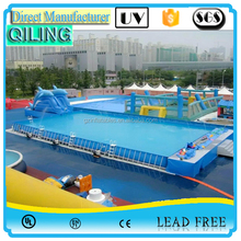 Summer deep metal Frame inflatable swimming pool for sale,intex frame pool