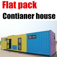 Luxury Prefab Flexible Prebuilt House Homes/ Container Houses