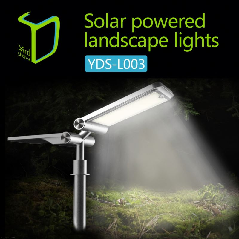 Yardshow Super Power Waterproof motion activated solar power led lamp garden flood lights outdoor