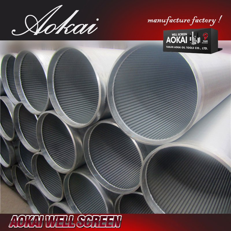 Sand control johnson screen filter tube SS304L