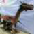 KANO4453 Exhibition Realistic Animatronic Dragon Sculpture For Sale