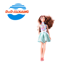 Lovely girls playing fashion live hand large plastic dolls from Dadi