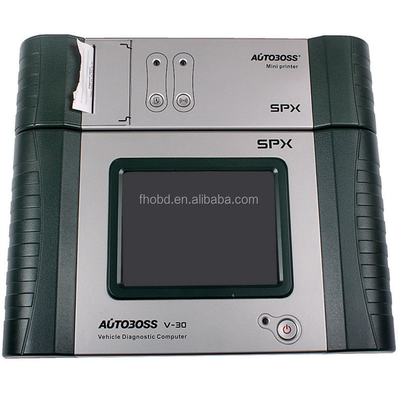 2015 Auto boss V30 Pro SPX Autoboss with Printer Car Scanner Update by Email