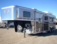 horse trailers '08 Logan w/809 Silver LQ Package