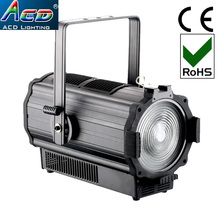 high power high brighter 200w 4in1 rgbw quad color best led fresnel film lighting equipment fixture lights for fil production