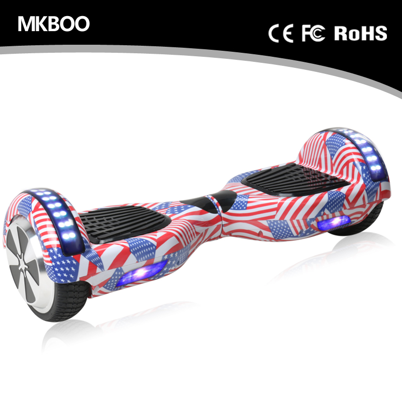 $100 Hoverboard 6.5 Inch 2 Wheel Hoverboard Electric Scooter Vespa New Scooter Price With Bluetooth Speaker Strip Light