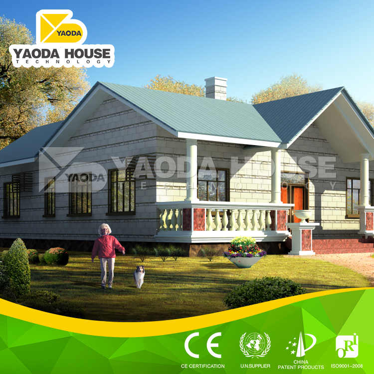 Cheap cement prefabricated residential houses