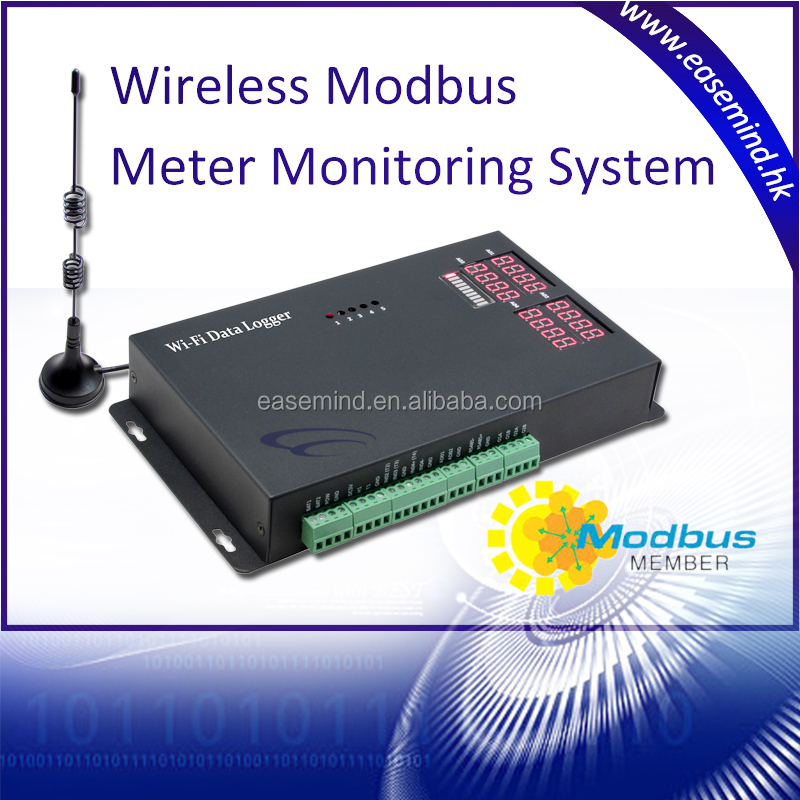 WiFi Data Collector remote sms alarm thermometer Modbus Meter
