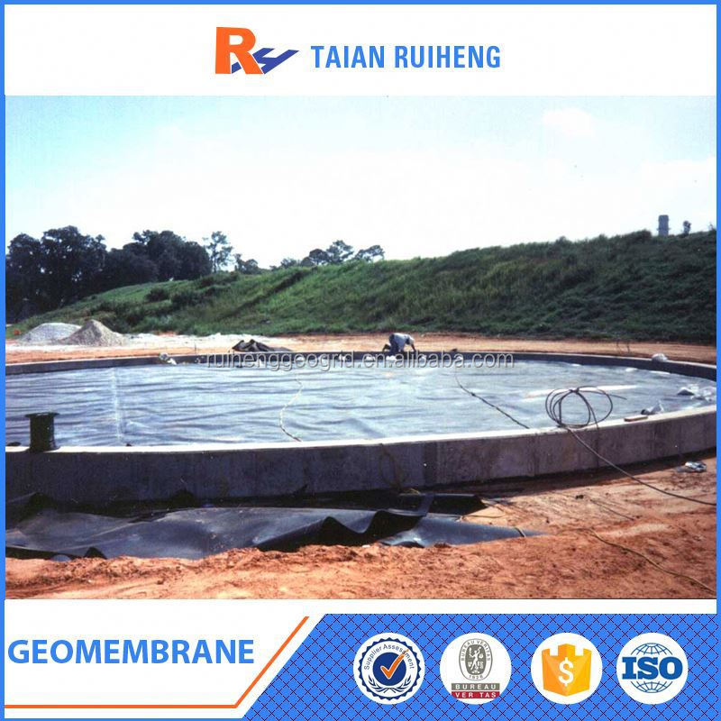2mm Smooth HDPE Geomembrane Landfill Liner