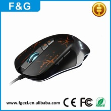ShenZhen DPI Adjustable USB Optical Wired Gaming Mouse For Computer Mouse