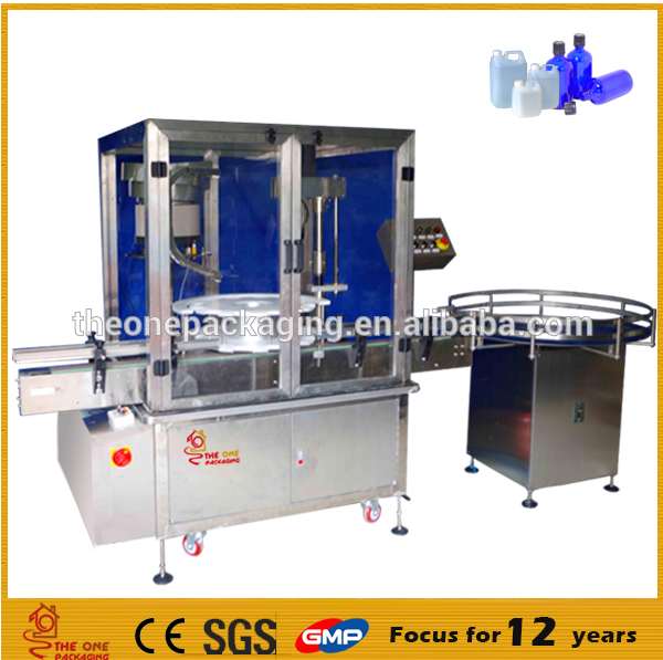 automatic bottle oil filling capping and labeling machine