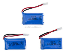 702035 7.4v400mAh 15C RC lipo battery for hobby airplane