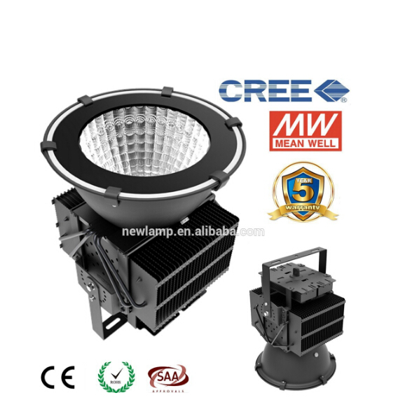 Indoor Outdoor Stadium Gym Dimmable Induction IP65 LED High Bay Light 200W LED Flood Light