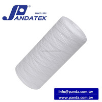 String wound PP filter cartridge, 20 inch water cartridge filter for home