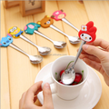 custom new products eco-friendly pvc spoon handle/customized high quality cartoon cute baby spoon handle