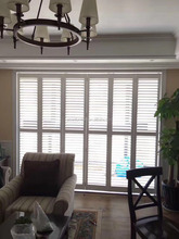 Durable Customized Good Package Basswood Plantation Shutter Louver
