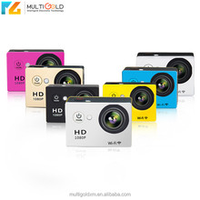 Shenzhen Full HD 1080p 60fps 720p Sports DV Wireless Under Water Camera Mini Action Camera 1080p