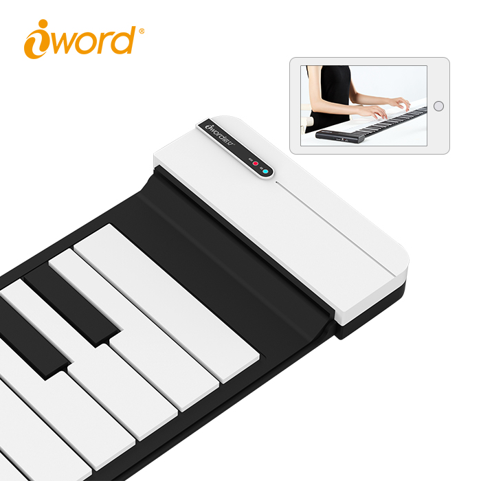 Hot selling 2018 electric keyboard chinese piano with sustain pedals