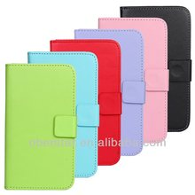 New PU Leather Wallet Mobile Phone Cover Case For Samsung Galaxy S5 i9600