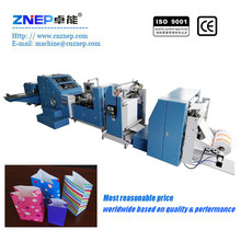ZD-F290 New Condition Roll Feeding Square-Bottom Kraft Paper Bag Processing Machine