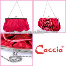 Red Beauty Sexy rose flower evening bag working bag shopping shoulder bags