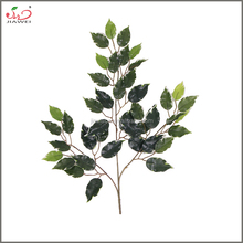 Yiwu Jiawei Arts&Crafts plastic wholesale indoor artificial ficus leaves