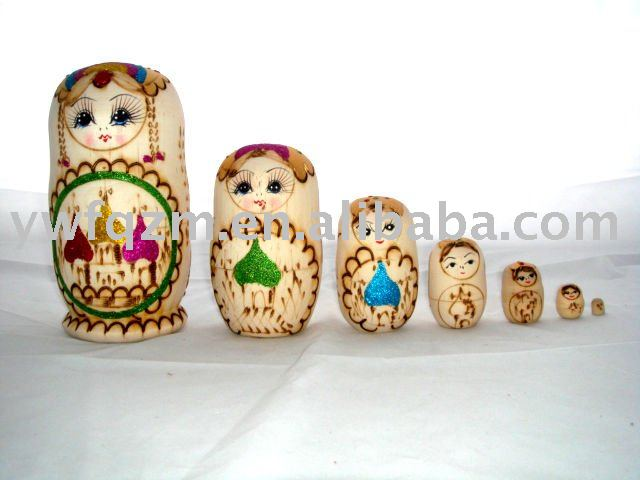 Wood Nesting Doll Crafts
