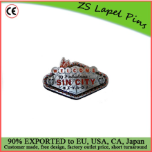 Custom quality Welcome To Sin City Las Vegas Belt Buckle