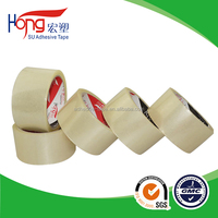 acrylic water based glue bopp transparent adhesive packaging tape in china