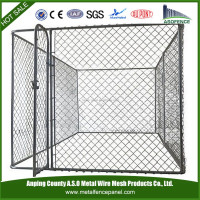 2015 new arrival dog kennel fence panel / best dog kennel / iron fence dog kennel
