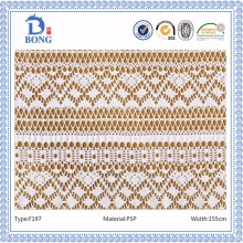 2016 New style polyester cord lace design fabric