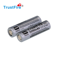 2015 TrustFire Newest!!! High quality IMR 18650 35amp 2200mah battery 3.7v li-ion hgih drain battery Vape Mods Box mods battery