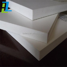 list of plastic products PVC waterproof foam sheet