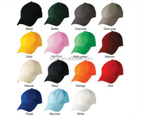 Colorful Custom Embroidered Sport Baseball Caps Brand