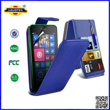 For Nokia Lumia 630 Top Flip Leather Cover Case