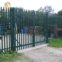 High quality European wrought iron fence design