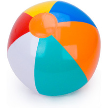 Colorful inflatable beach ball for children's water toys