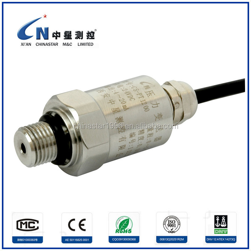 Low Cost Water Pressure Sensor For Water Pumps Parts