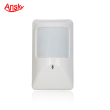 Antitheft wired wide angle PIR motion detector for home security with cheap price