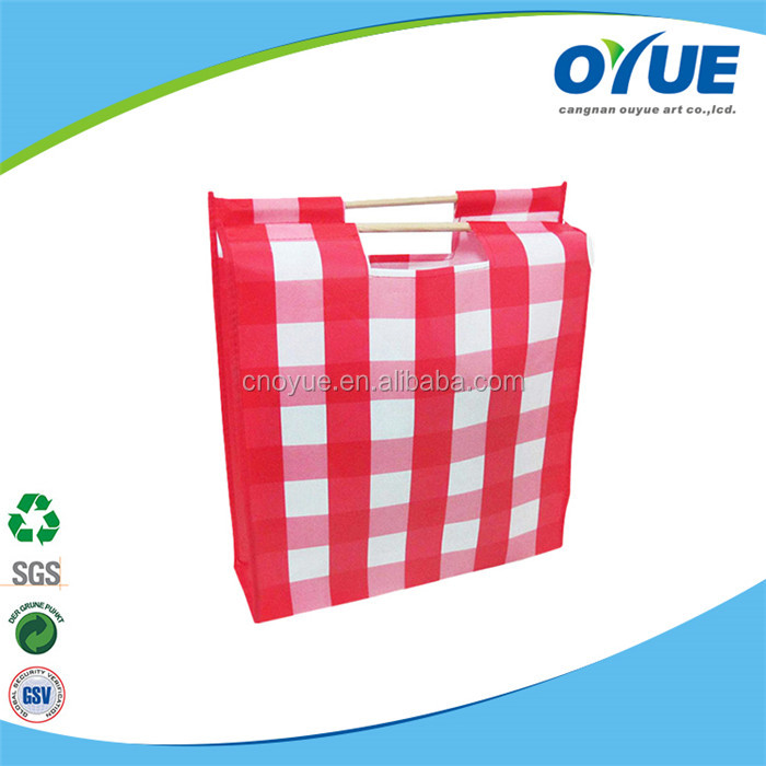 Durable printing wholesale cheap custom shopping small non woven bag
