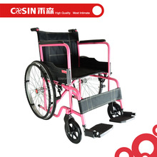 wide wheels steel folding wheelchair manual wheelchair price