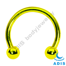 Dongguan Steel Circular Barbells w/ball - lip ring piercing gauge body Jewelry