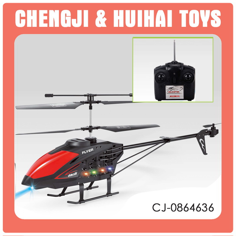 China manufactory long flight time model toy durable king rc helicopter