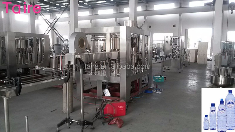 CGF8-8-3 Automatic easy operate type rotary bottle filling capping and labeling machine