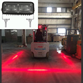 18W blue zone danger area warning spot safety lights red zone forklift light