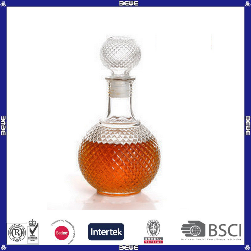factory price wine glass bottle for sale