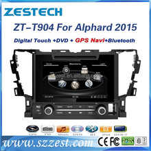 Best selling car accessories for Toyota Alphard 2015 car radio with used auto spare parts/GPS/Radio/Audio/SWC/DTV/ATV/3G/Wifi/BT