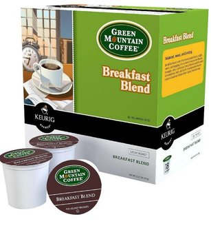 Keurig Green Mountain Breakfast Blend K-Cups 18 Ct